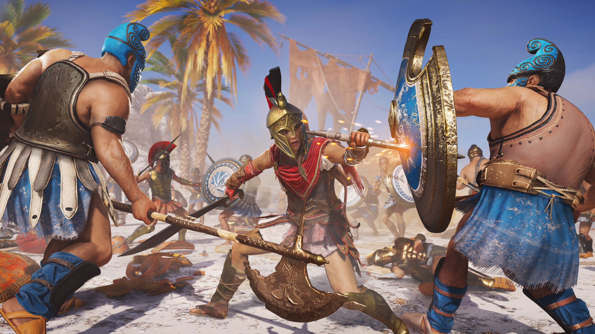 Assassin S Creed Odyssey Is Much Longer Than Origins Pcgamesn