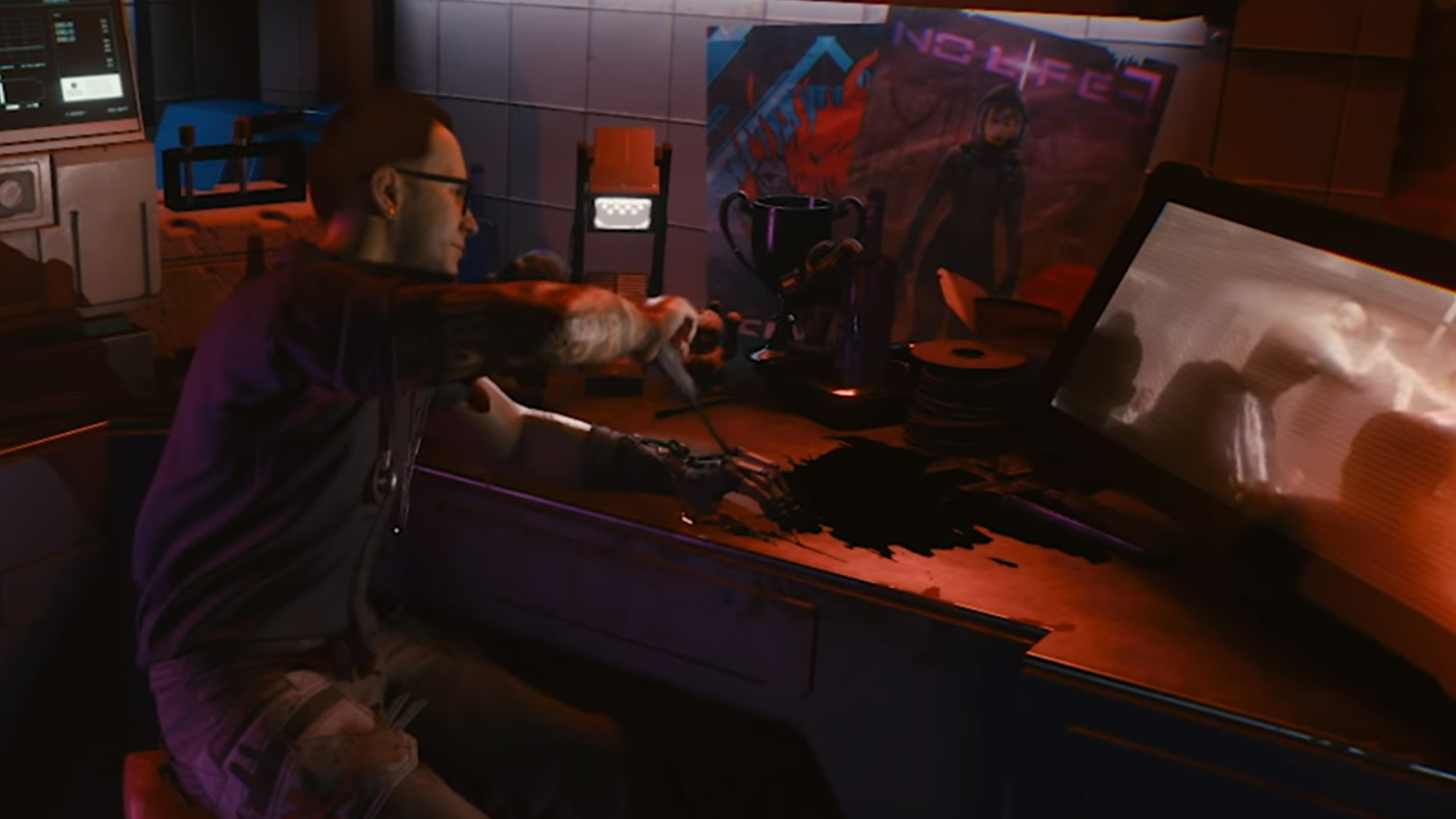Cyberpunk 2077 Contains A Subtle Dig At Valve And Half