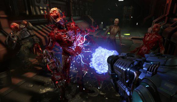 upcoming pc games doom eternal