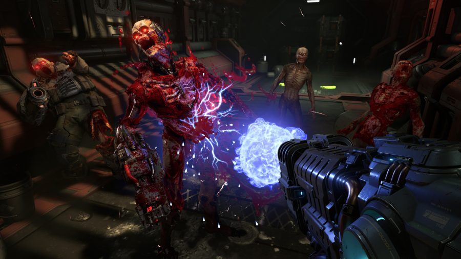 upcoming pc games doom eternal