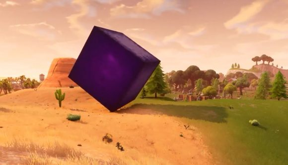 The Fortnite cube is moving again | PCGamesN
