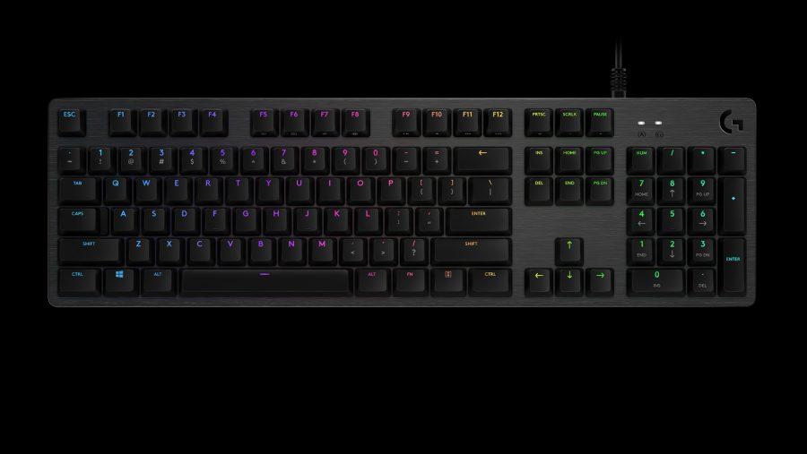 Logitech GX Blue Sporting G512 Keyboard
