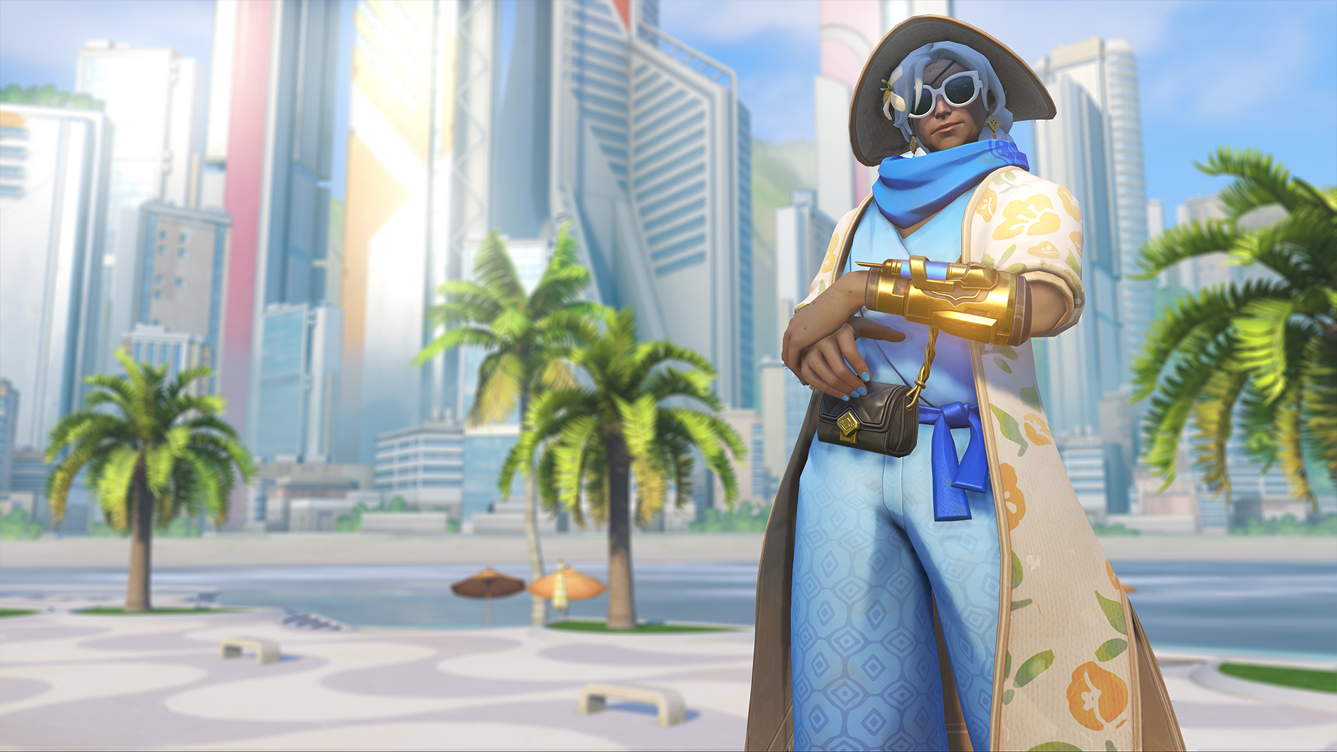 Ana puts her foes to sleep in a mini-movie hidden in the