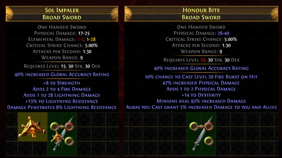 path of exile fossils