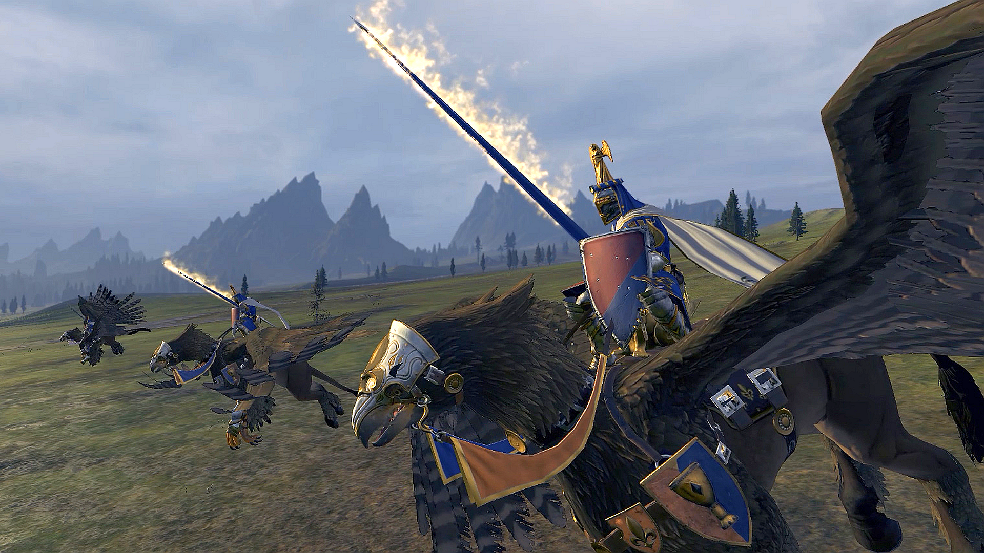 How Total War: Warhammer's Royal Hippogryph Knights were ...