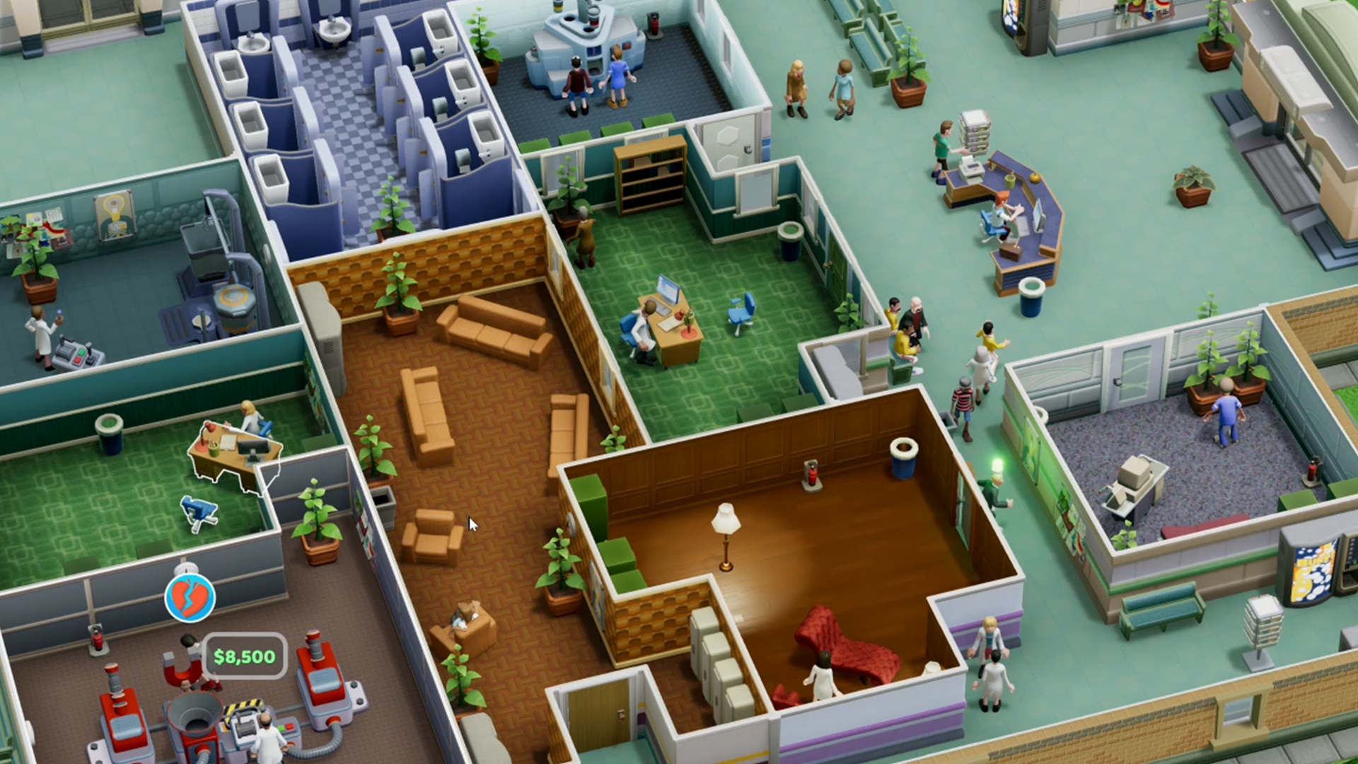 Two Point Hospital Review Pcgamesn