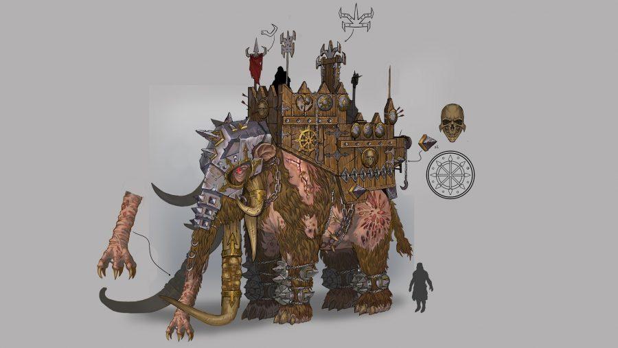 Total War: Warhammer War Mammoth