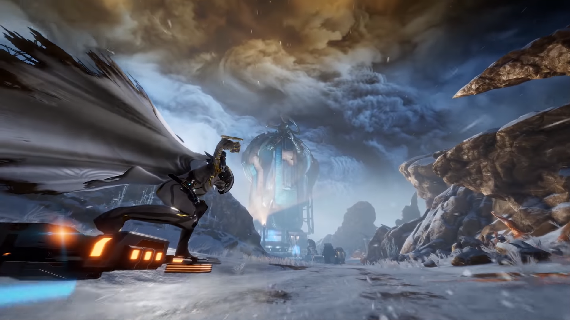 Warframe S Massive Open World Map For Fortuna Has Been