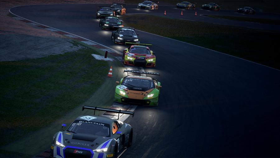 Assetto Corsa Competizione is a more refined racing sim, one