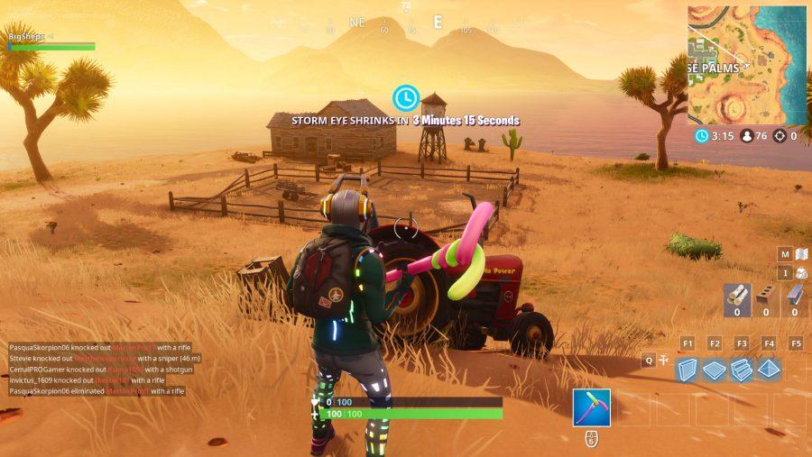 Fortnite Hunting Party week 1 location screenshot 3