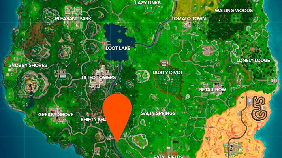 Fortnite Road Trip week 9 location