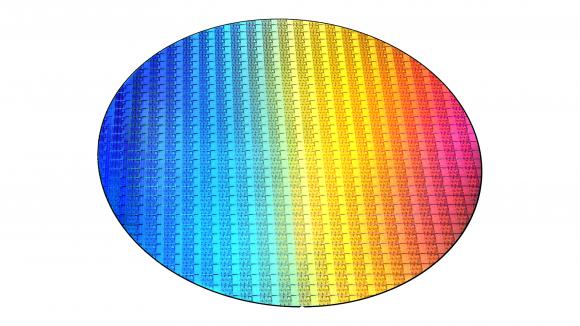 Intel 8th Gen wafer