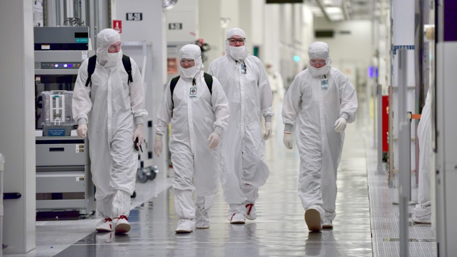 Intel manufacturing... that's Mr. Pink on the left