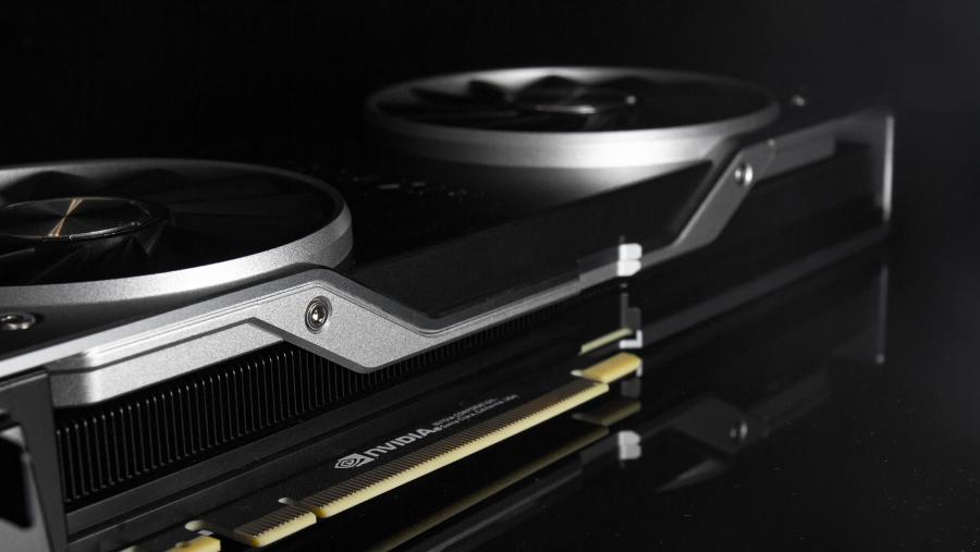 Nvidia RTX 2080 Ti design