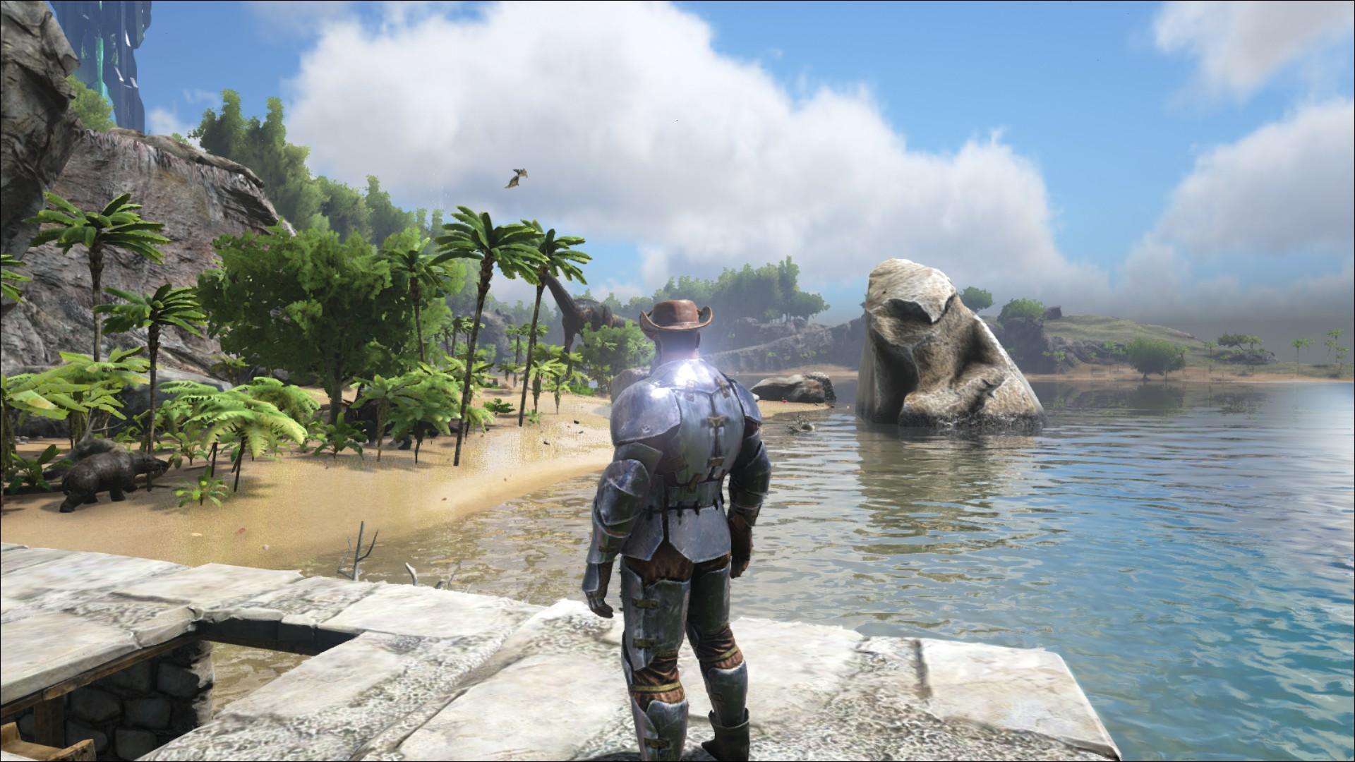 Ark Leedsichthys Hunt How I Killed The Jaws Of Survival Evolved Pcgamesn