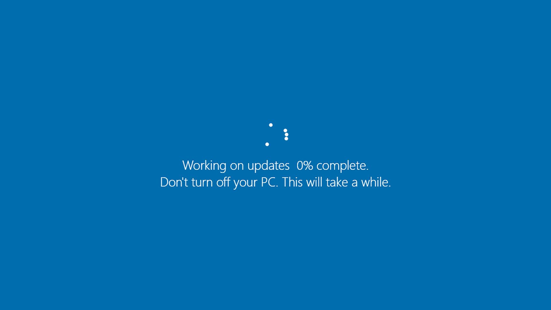 Windows Update Fehler 0x80070003
