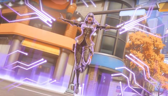 Sombra will get a Legendary skin, Demon Hunter, to celebrate BlizzCon 2018