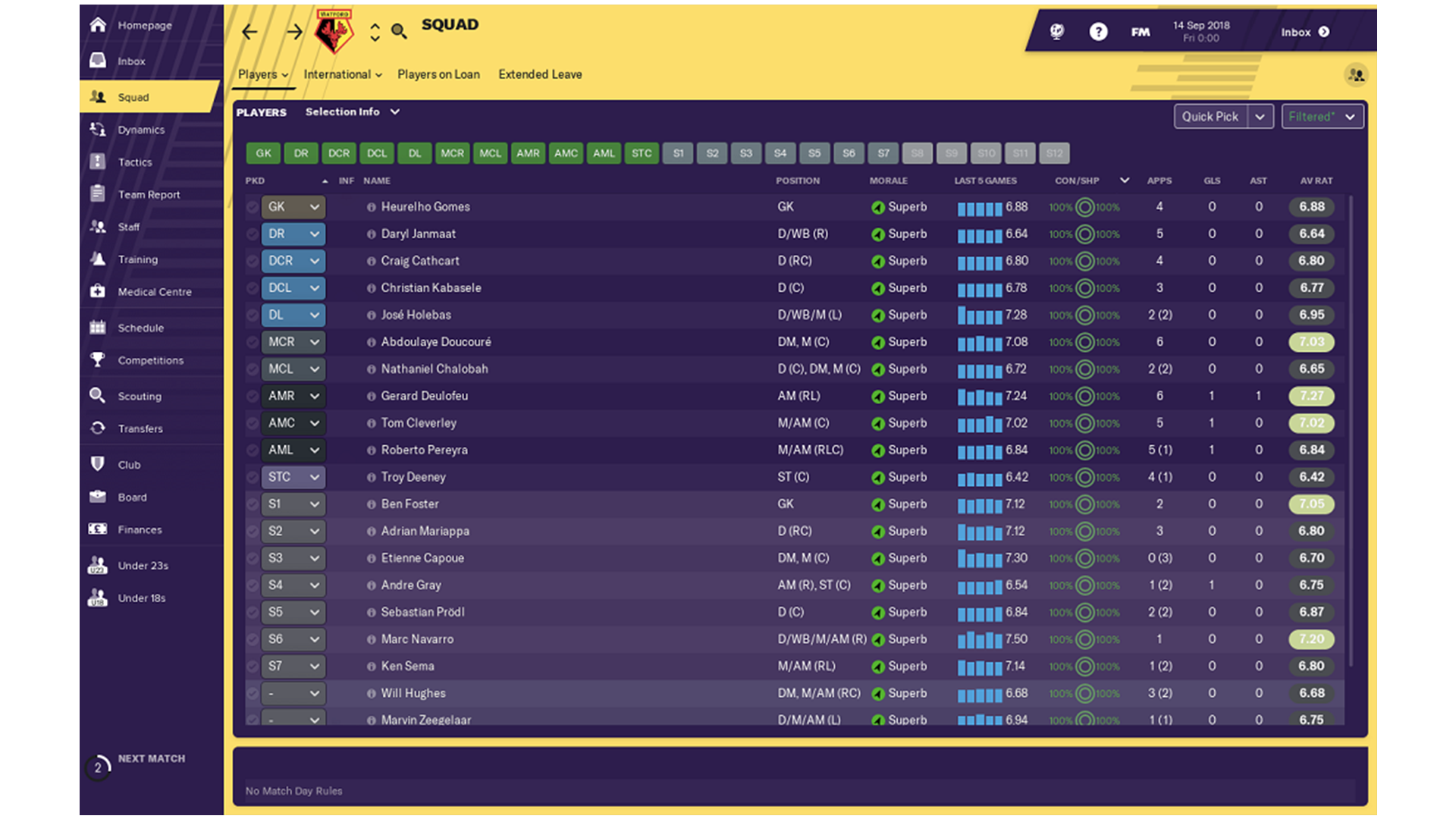 Football Manager 2019 Features Full Bundesliga