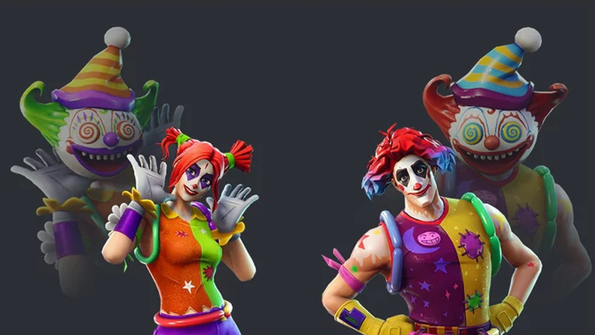New Fortnite skins leaked – hideous clowns are coming to the