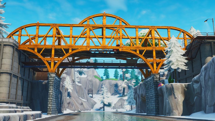 fortnite jigsaw puzzle pieces bridges caves