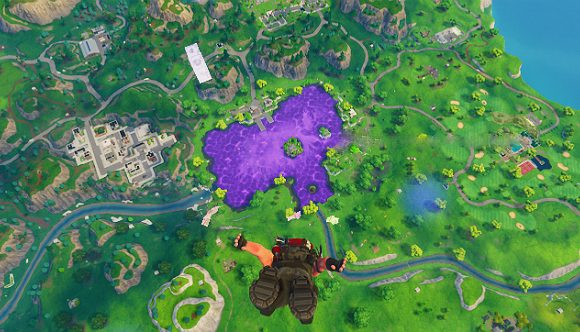 Watch Fortnite's mysterious purple cube melt