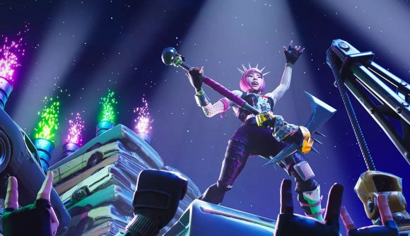 Fortnite where to dance on top of a Clock Tower, Pink Tree, and Giant Porcelain Throne