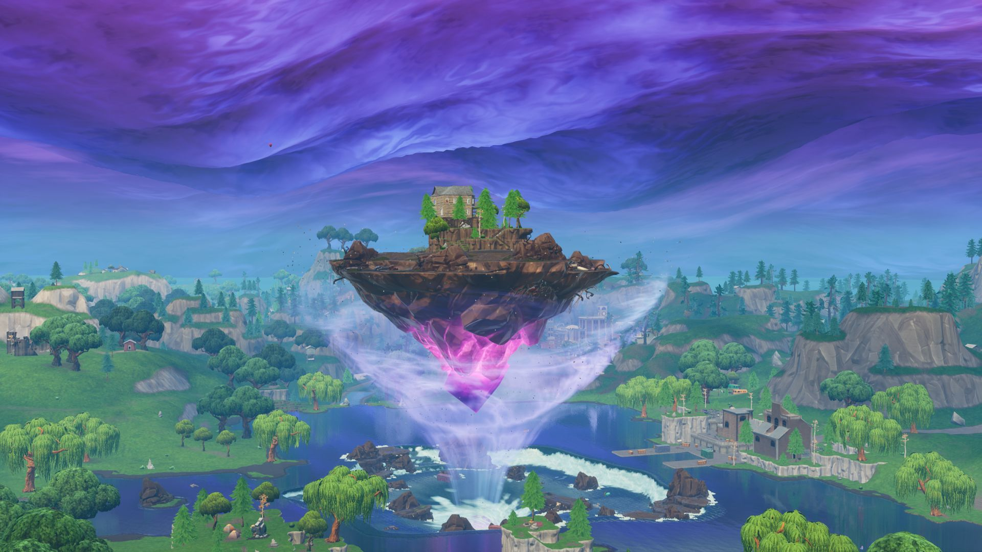 Fortniteu0027s Floating Island Is On The Move, And Kevin Is Going To Grow. Fortnite  Map Changes