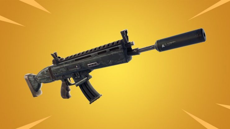 Fortnite update 5.4 - Suppressed Assault Rifle
