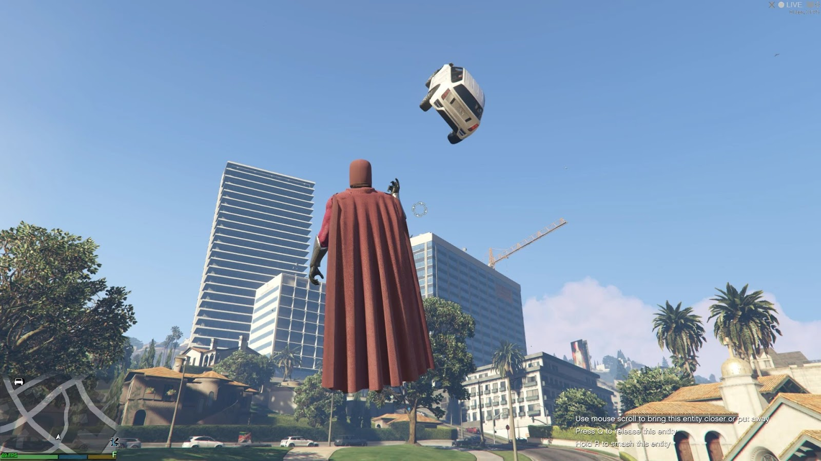 This GTA 5 mod lets you play as Magneto and take revenge on