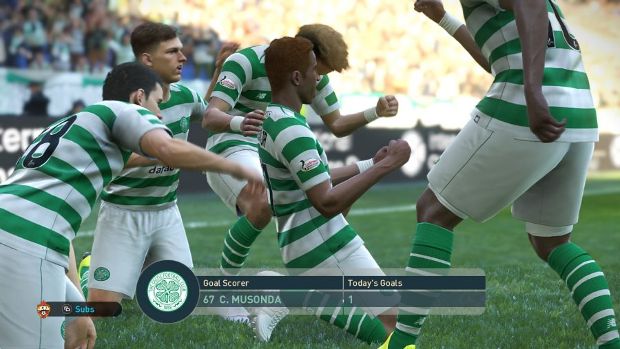 pes 2019 celtic real players