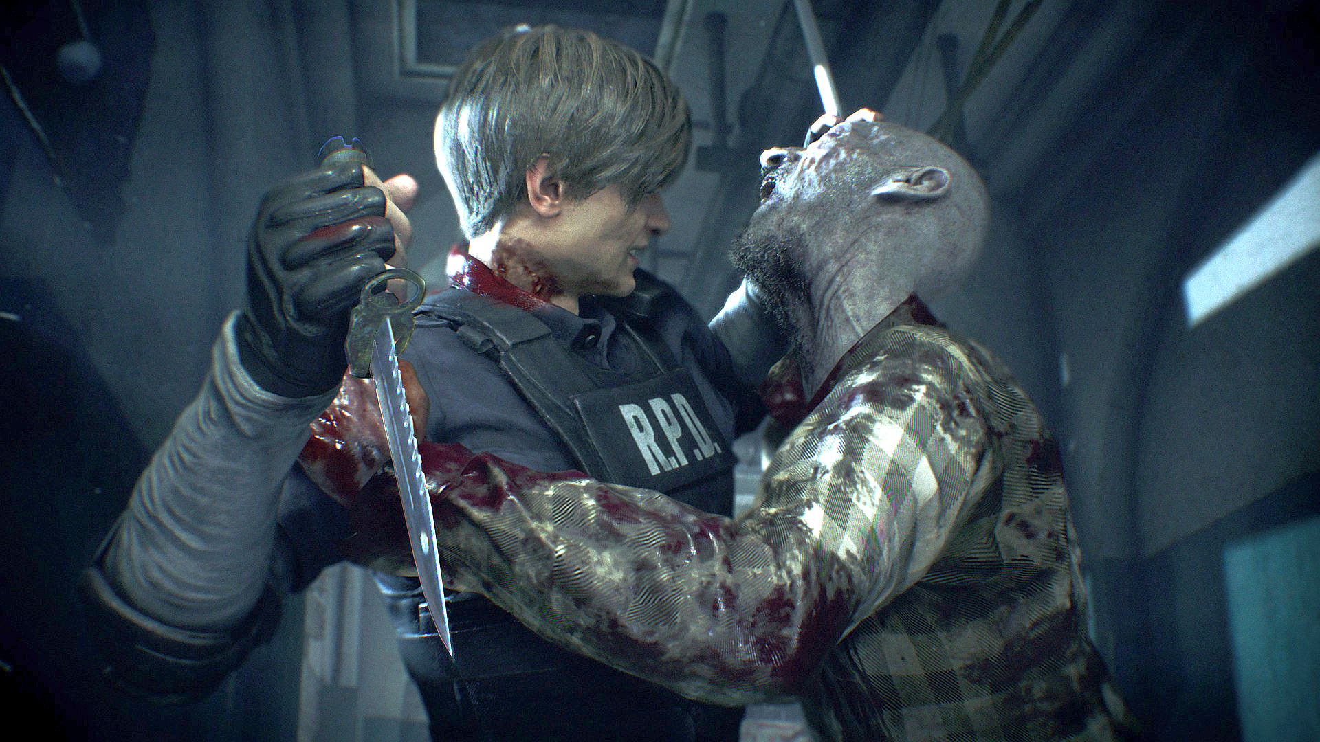 "How Capcom created Resident Evil 2 remake's gore and ""world"