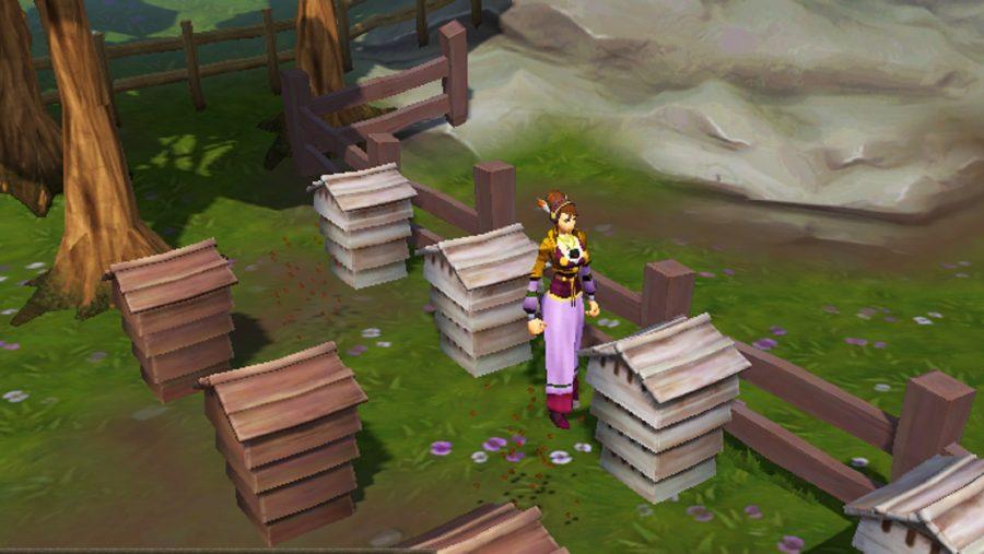 RuneScape beehives