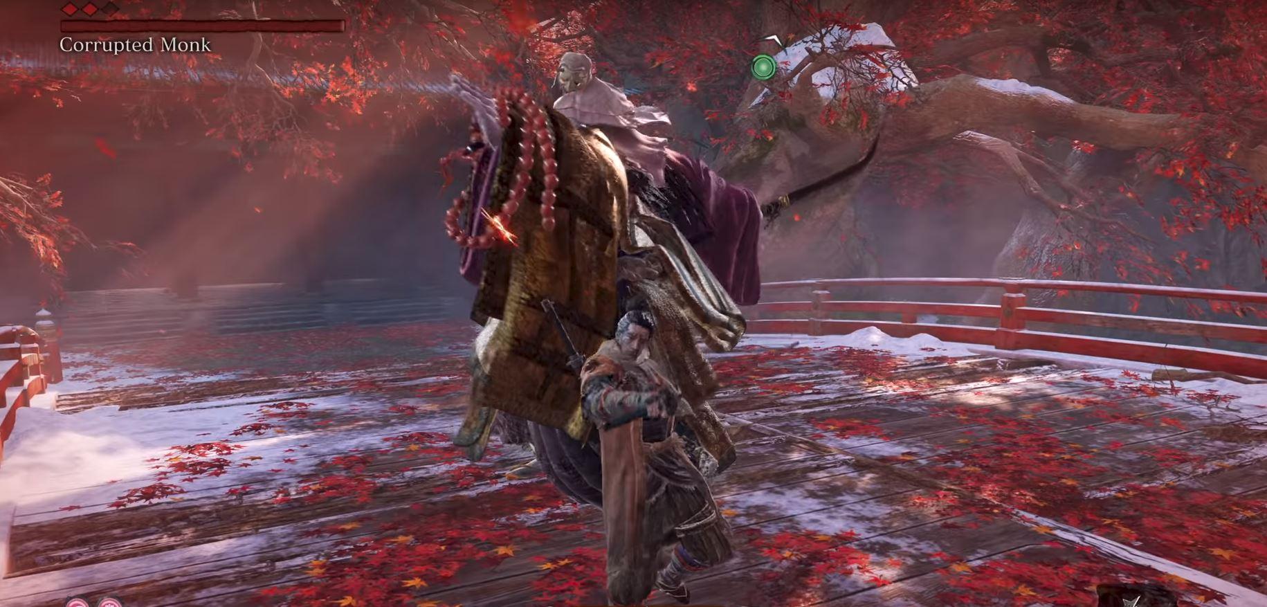 sekiro shadows die twice corrupted monk