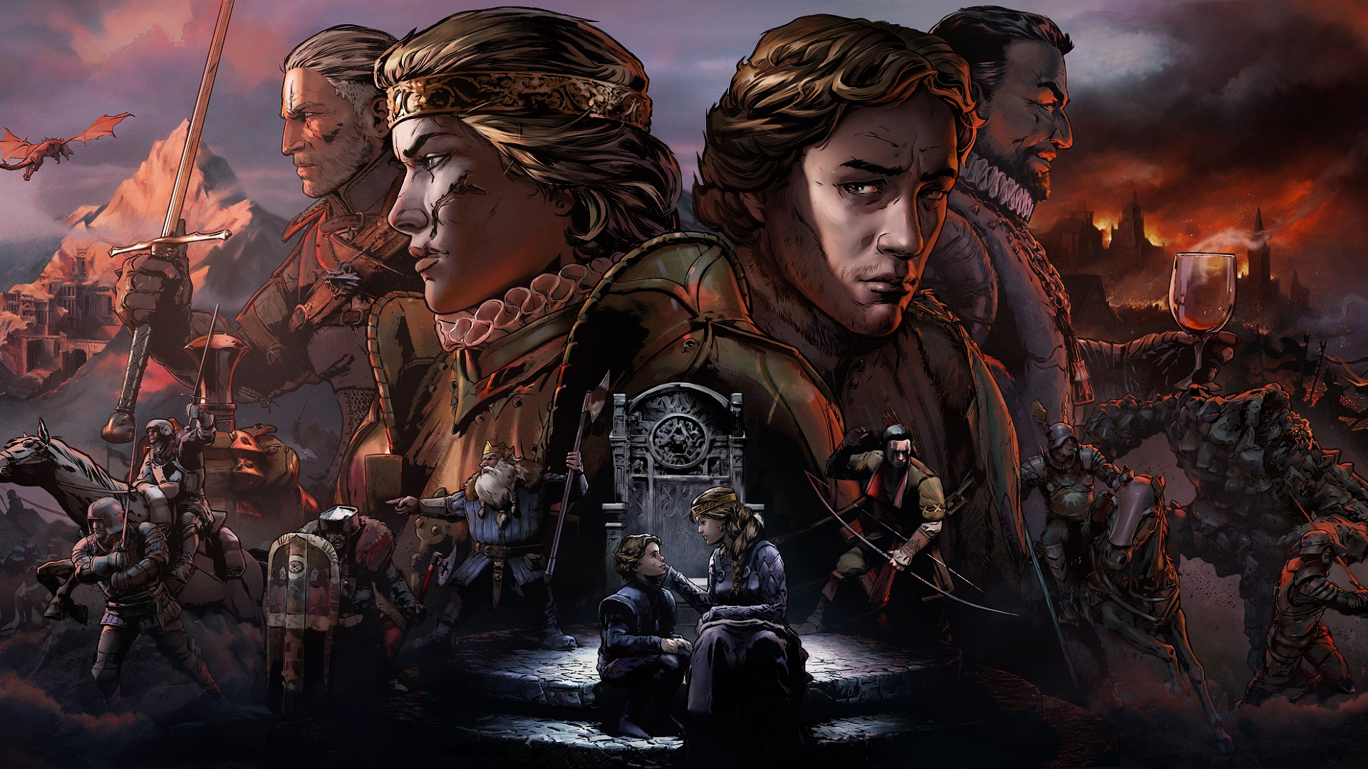 Resultado de imagen de Thronebreaker: The Witcher Tales
