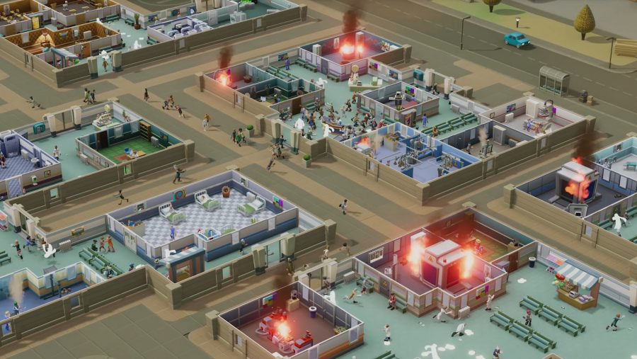 steam charts two point hospital