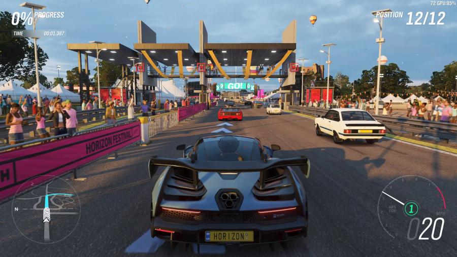 Forza Horizon 4 PC graphics high