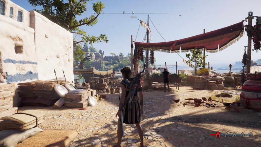 Assassin's Creed PC graphics medium