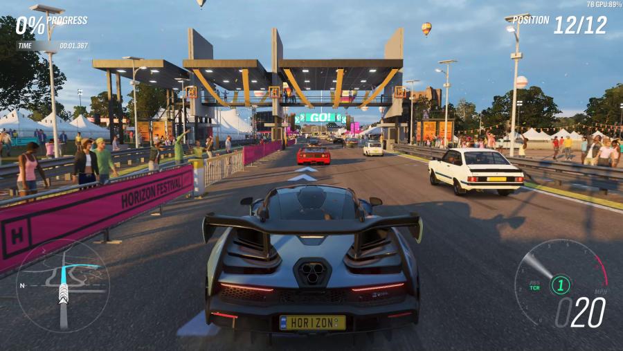 Forza Horizon 4 PC graphics medium