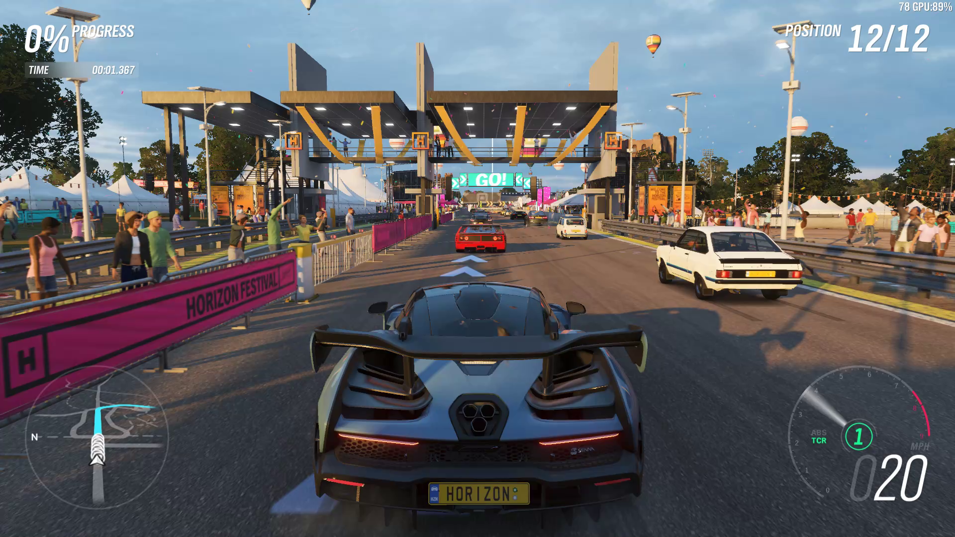 forza horizon 4 pc performance review a luxurious ride. Black Bedroom Furniture Sets. Home Design Ideas