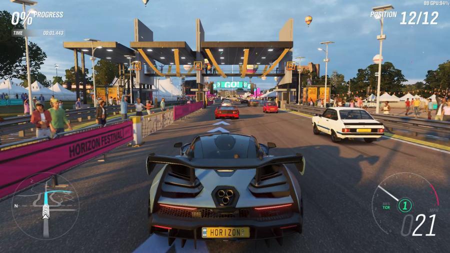 Forza Horizon 4 PC graphics low