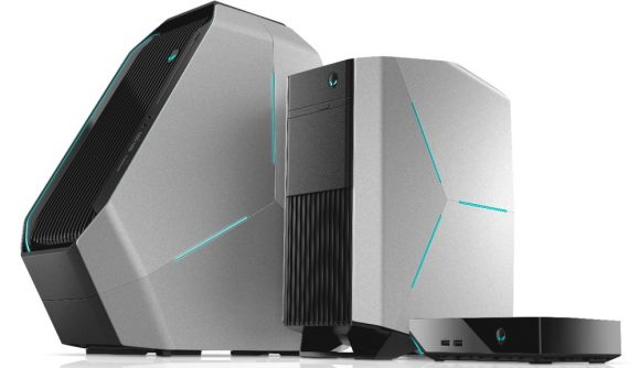 Dell Alienware desktop gaming PCs