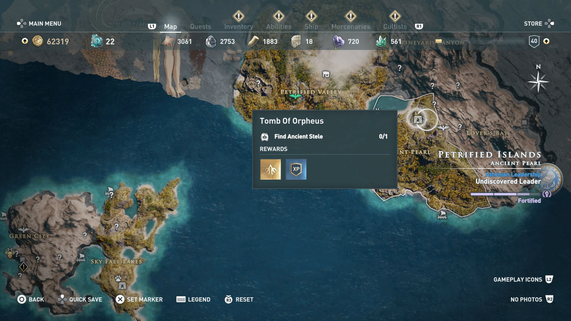 Assassin S Creed Odyssey Karte.All Assassin S Creed Odyssey Tomb Locations How To Get All The
