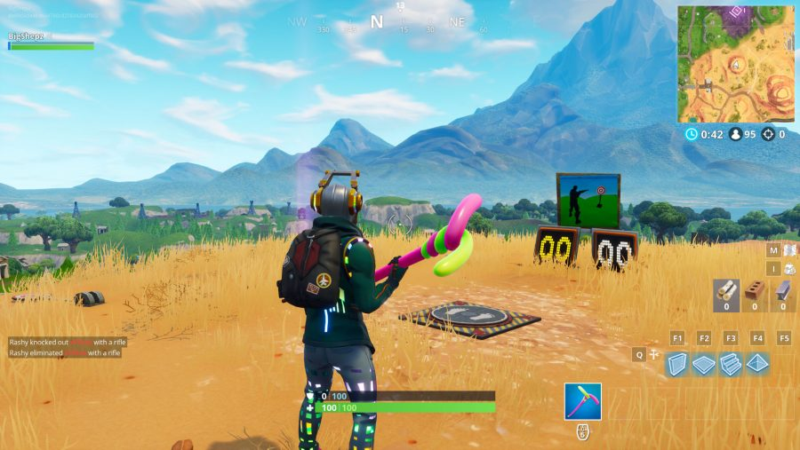 All Fortnite Shooting Galleries locations Paradise Palms
