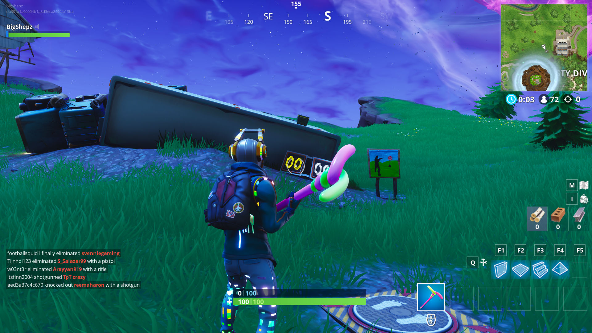 All Fortnite Shooting Galleries Locations Where To Get A Score Of 3