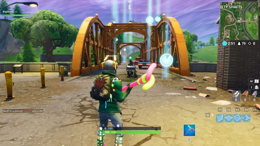 All Fortnite timed trials locations Shifty Shafts