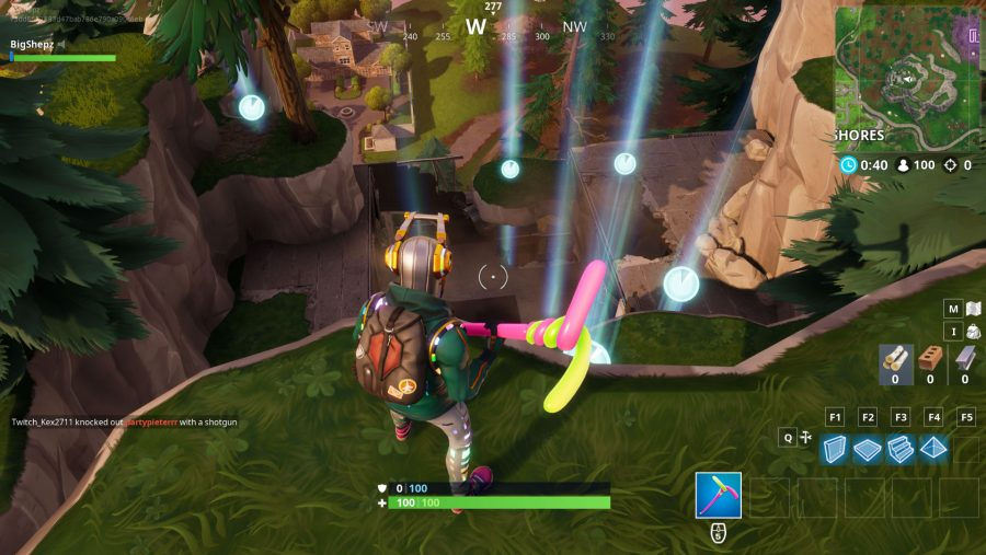 All Fortnite timed trials locations snobby shores