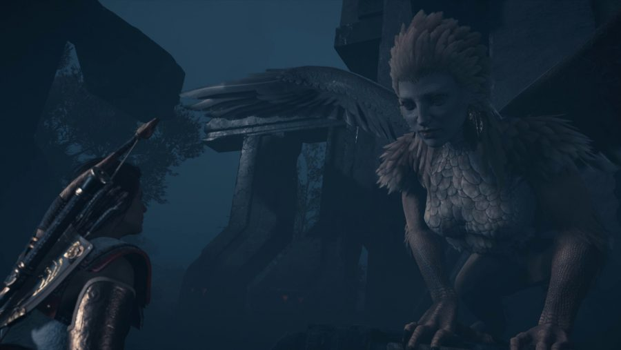 Assassin's Creed Odyssey Sphinx