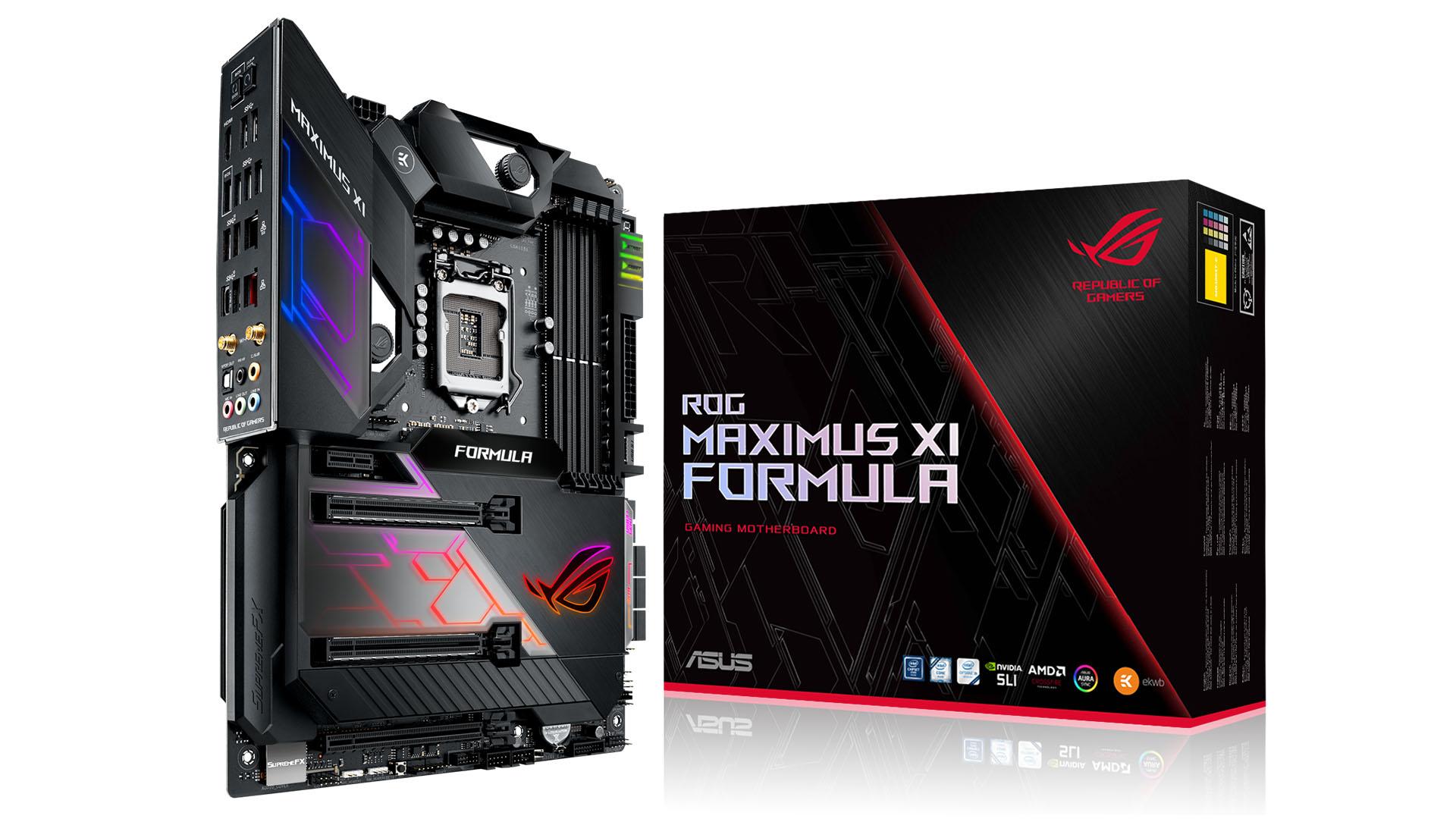 Resultado de imagen para ROG Maximus XI Formula png