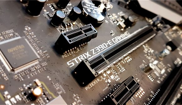 PCIe connector motherboard