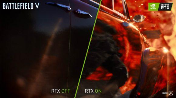 Battlefield V RTX comparison
